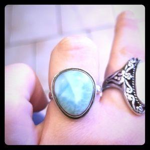 Jewelry - Larimar Sterling Silver 💍